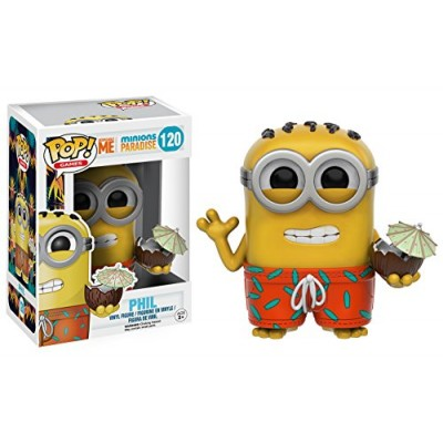 Funko 9223 Pop Games Minion Paradise Phil Action Figure