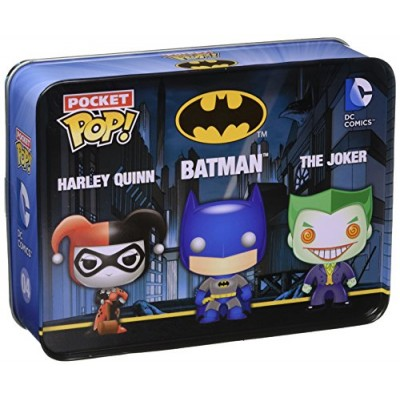 Funko Batman DC Comics Pocket Pop! Mini Vinyl Figure Tin (3-Pack)