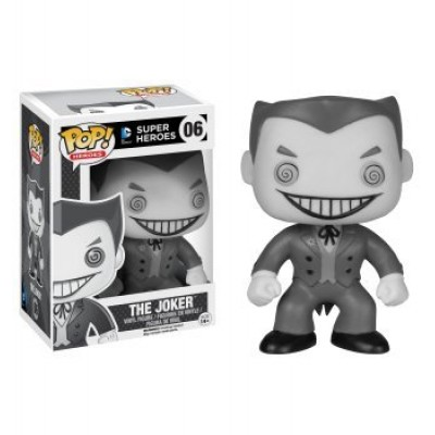 Funko DC Comics Black and White Joker Pop Vinyl Figure Exclusive
