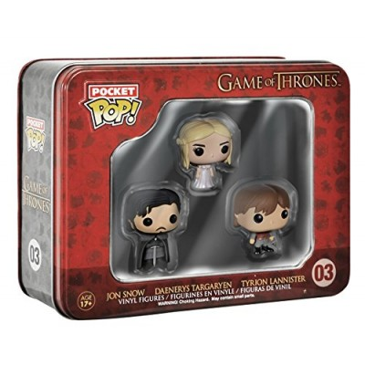 Funko Game of Thrones Pocket Pop! Mini Vinyl Figure Tin (3-Pack)