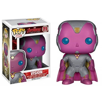 Funko Marvel: Avengers 2 - Vision Bobble Head Action Figure