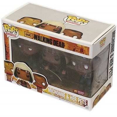 Funko P.O.P Television Walking Dead Michonne and Her Pets Zombies (3-Pack)