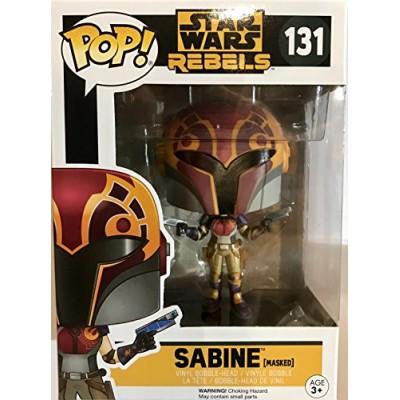 Funko Pop! 131 Star War Sabine Masked Exclusive Rebels