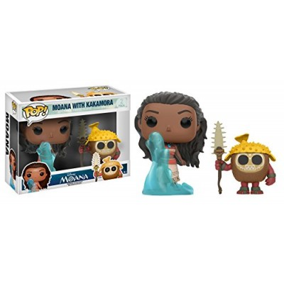 Funko POP Disney: Moana and Kakamora Toy Figure (2 Pack)