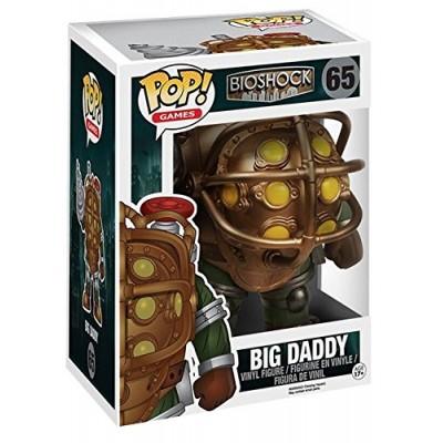 "Funko POP Games: Bioshock - Big Daddy 6"" Action Figure"