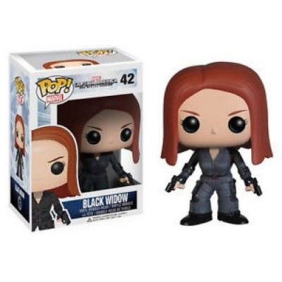 Funko POP Heroes: Captain America Movie 2 - Black Widow Action Figure