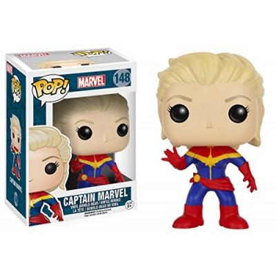 Funko Pop! Marvel: 7274 Unmasked Captain Marvel Booble