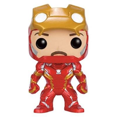 Funko POP! Marvel Captain America Civil War : Iron Man Unmasked #136 Vinyl Figure