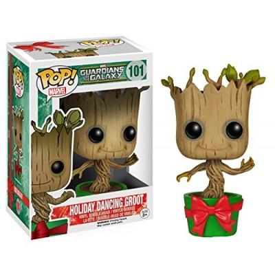 Funko POP Marvel: GOTG - Holiday Dancing Groot Action Figure