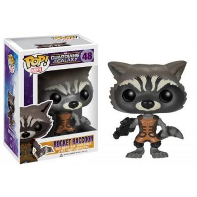 Funko POP Marvel: Guardians of The Galaxy - Rocket Raccoon Vinyl Bobble-Head Figure