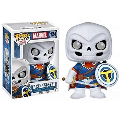 Funko Pop! Marvel Taskmaster 124 Exclusive Bobble Head