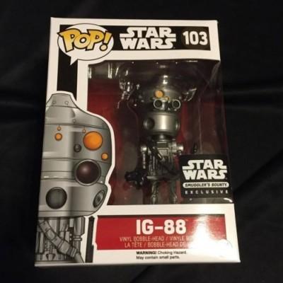 Funko POP Star Wars: IG-88 Action Figure Exclusive Smuggler's Bounty