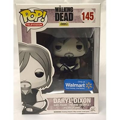 Funko, Pop! Television, The Walking Dead, Exclusive Daryl Dixon Black & White Figure #145