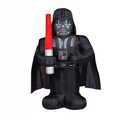 5 Feet Tall Star Wars Darth Vader Airblown Inflatable Air Blown