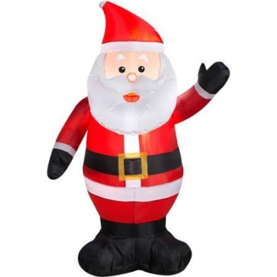 Airblown Inflatable Outdoor Christmas Characters - 4ft Tall (Santa)