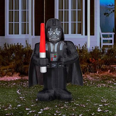 Star Wars Darth Vader 5' airblown Inflatable Lighted Yard Art Decoration
