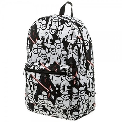 Star Wars 7 Trooper/Kylo Ren Sublimated Backpack From The Force Awakens
