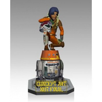 Gentle Giant Ezra and Chopper Maquette Action Figure