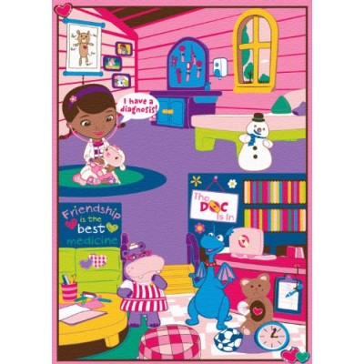 Disney Junior Doc McStuffins Doctor's Interactive Game Rug