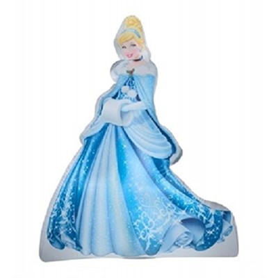 Christmas Inflatable 5' LED Disney Princess Cinderella Outdoor Yard Decoration