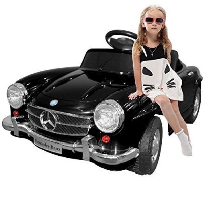 Giantex Black Mercedes Benz 300sl AMG Rc Electric Toy Kids Baby Ride on Car