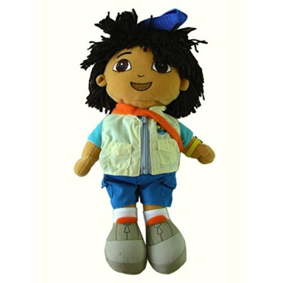 "13"" Go Diego Go Plush Stuffed Animal Backpack"