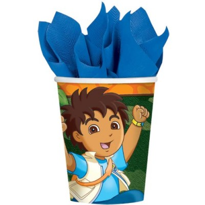 Go Diego Go Cups 8 Ct.