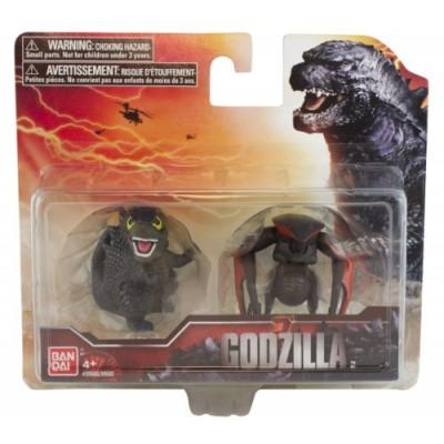 Godzilla Movie Chibi Figure 2-Pack with Godzilla (Figure B) and MUTO (8 Legged)