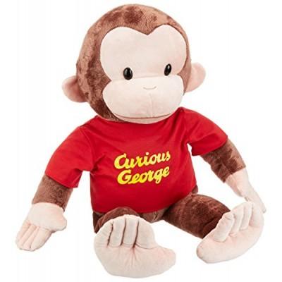 Gund Curious George Stuffed Animal, 26 inches