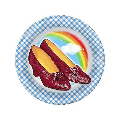 Wizard of Oz Small Paper Plates (8ct)