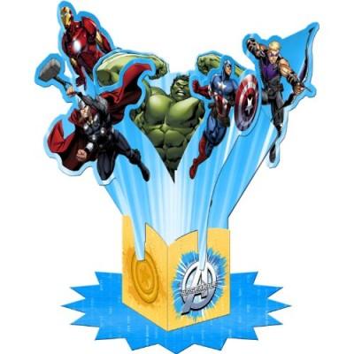 Avengers Assemble Table Decorating Kit