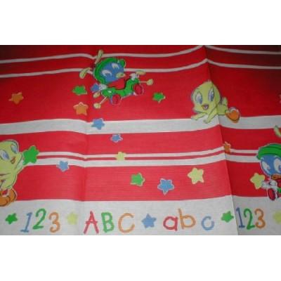 Baby Looney Tunes 'Alphabet Fun' Table Cover (1ct)