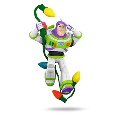 Disney/Pixar Toy Story Christmas Ornament Buzz in Lights Hallmark Keepsake Ornament