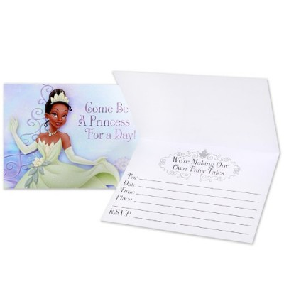 Disney Princess and the Frog Invitations (8)