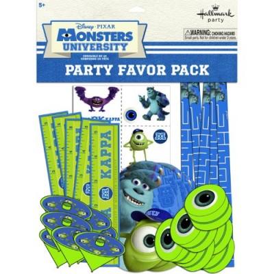 Hallmark BB1TPE1740 Monsters Inc. Party Favor Pk - 48 Piece