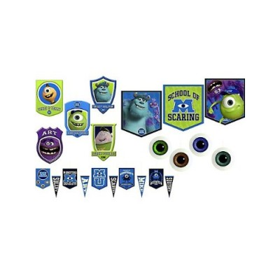 Hallmark BB20104 Monsters Inc. Room Transformation Kit
