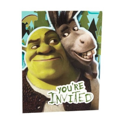 Hallmark Shrek Forever After Invitations - 8 ct