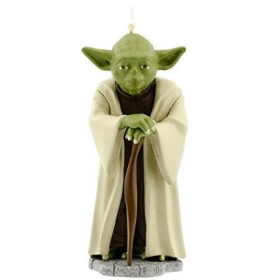 Hallmark Star Wars Yoda Christmas Ornament