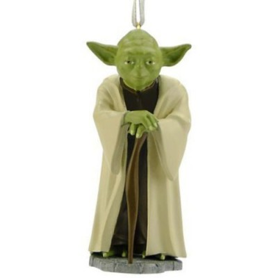 Hallmark Star Wars Yoda Christmas Tree Ornament