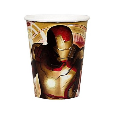 Iron Man 3 9oz Paper Cups (8ct)