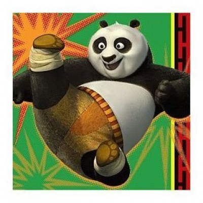 Kung Fu Panda 2 Beverage Napkins 16ct by Hallmark