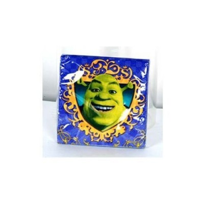 Shrek Party Beverage Napkin (16 count)