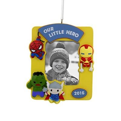 Super Hero Photo Frame 2016 Christmas Ornament by Hallmark