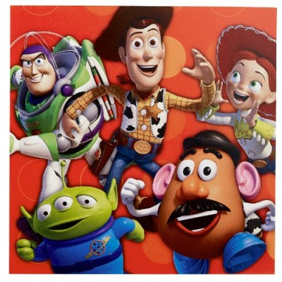 Toy Story 3 - 3D Lunch Napkins (16 count)