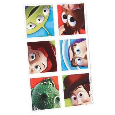 Toy Story 3 Sticker Sheets (4 count)