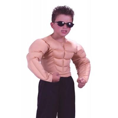 Muscle Shirt Child Costume - Medium (8-10)