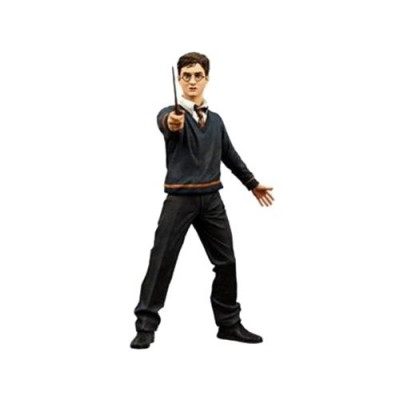 Harry Potter Series 1 Harry Potter with Wand and Base Action Figures