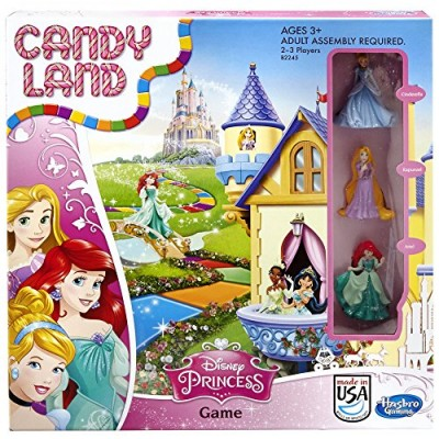 Candy Land Disney Princess Edition Game Board Game