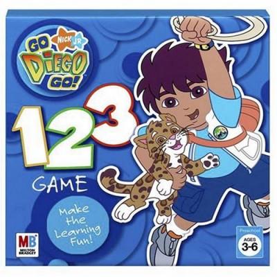 Go Diego Go! 123 Game