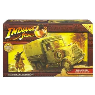 Indiana Jones Raiders of the Lost Ark Cargo Truck